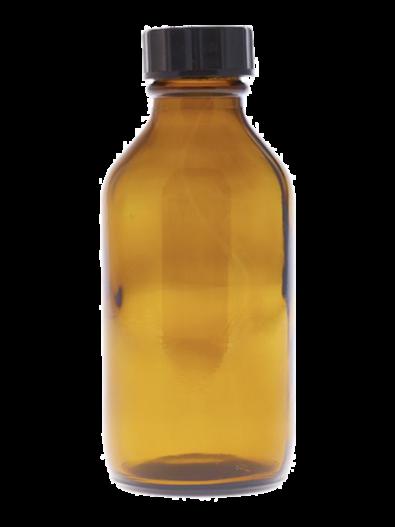 150ml Amber Glass Bottle wit hwide cap